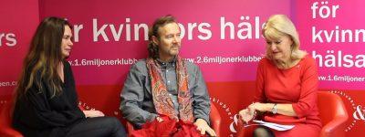 Alexandras hörna med Dramatenskådespelaren Jan Waldekranz och med Eva Eriksson